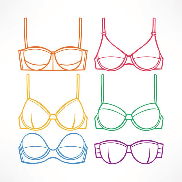 Get a professional fitter to help you decide which shape of bra is right for