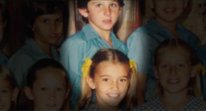 Rebecka and Darren in Year 4.