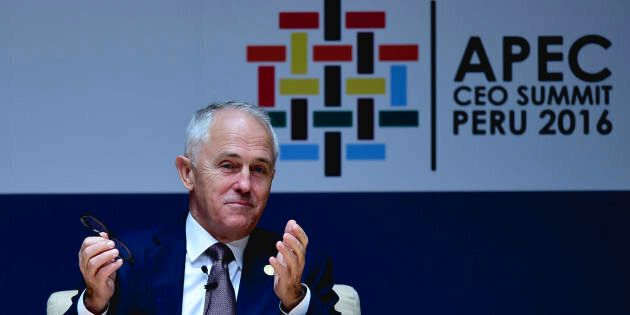 Prime Minister Malcolm Turnbull is in Peru for the APEC