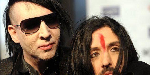 Marilyn Manson and Twiggy Ramirez.