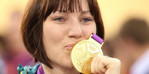 Anna Meares is the defending cycling sprint