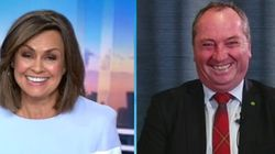 Lisa Wilkinson Turns Barnaby Joyce Into A Total 'Yes'