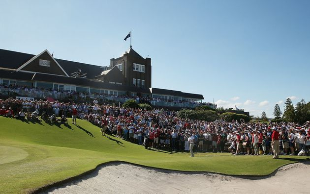 The grand old clubhouse at Royal Sydney in the Sydney harbourside suburb of Rose Bay is all part of the