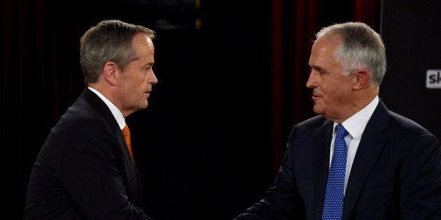 Bill Shorten and Malcolm Turnbull are still in campaign mode.