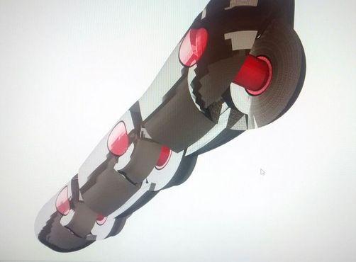 A 3D model design of a
