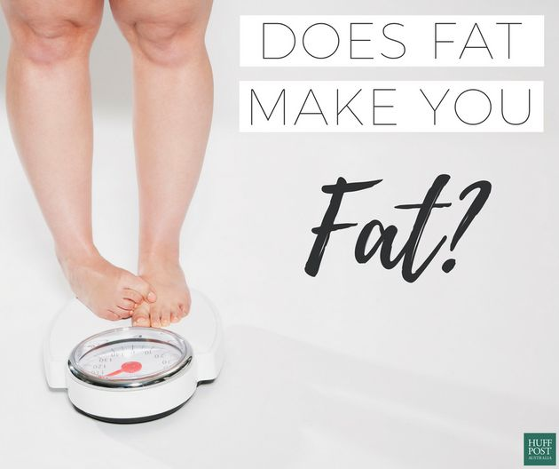 We Found Out If Fat Really Makes You