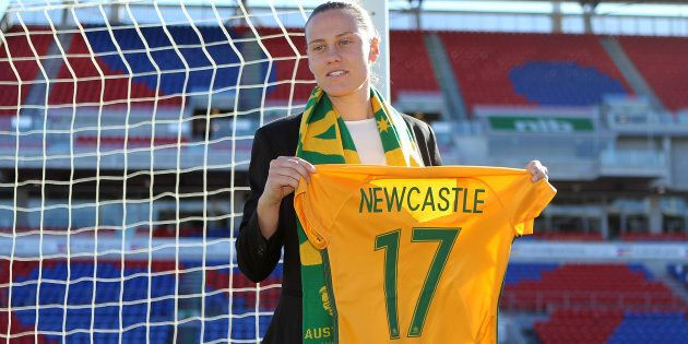 Emily van Egmond has been kicking butts with the Matildas all year. Now it's time for her to do that...
