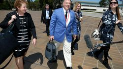 One Nation Senator Rod Culleton Is Pretty Happy With Himself After His First Day In The High