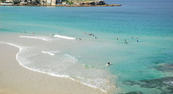 Bondi Beach or the Bahamas?