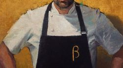 George Calombaris Portrait Wins Archibald 'Packing Room'