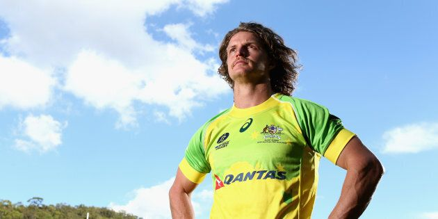 The Honey Badger opened up about humour curing the tough