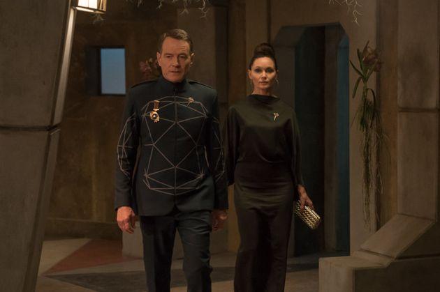 Bryan Cranston and Essie Davis in 'Human