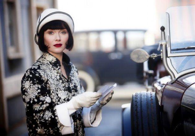 Davis starring as Phryne Fisher in 'Miss Fisher's Murder