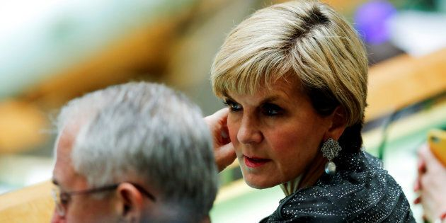 Julie Bishop will step into the role of Acting Prime