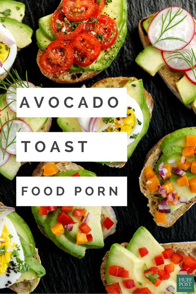 The Avocado Toast Porn You Want And