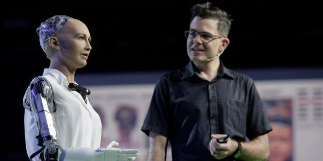 A Human-Like Robot Just Received Citizenship In Saudi Arabia   HuffPost  Australia Tech