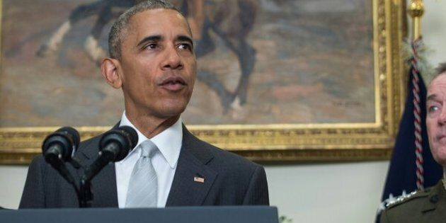 President Barack Obama said Wednesday that there will be 8,400 troops in Afghanistan when he leaves office, an increase from a previous announcement that there would be5,500.