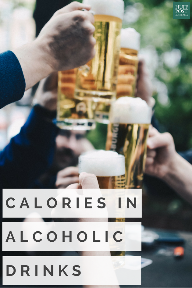Here's How Many Calories Are In Your Favourite Alcoholic