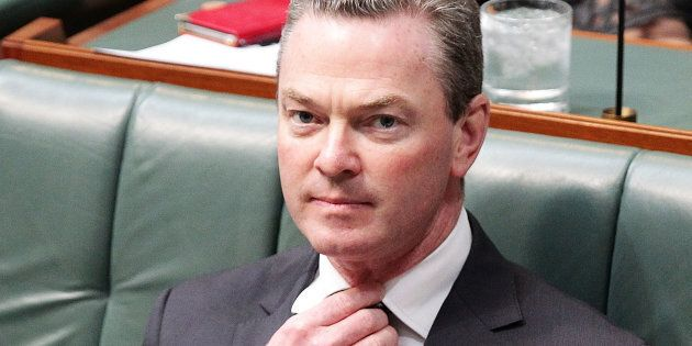 Christopher Pyne made his claim on Channel 9's Today
