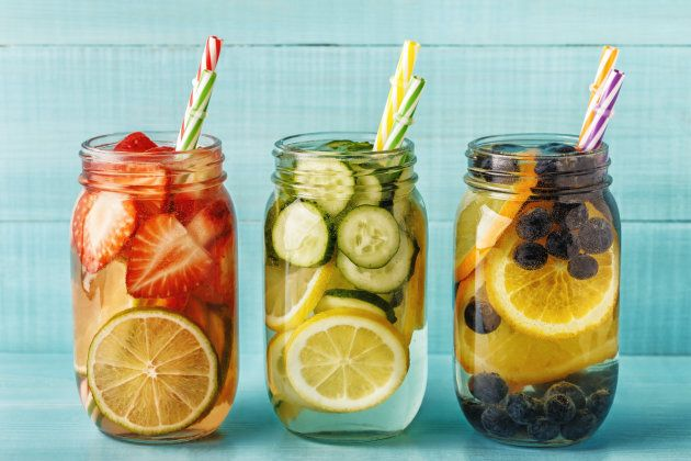 Try adding a couple of teaspoons of ACV to fruit-infused water.