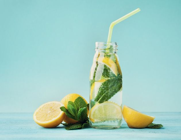 Try infusing soda water with mint and lemon for a refreshing soda