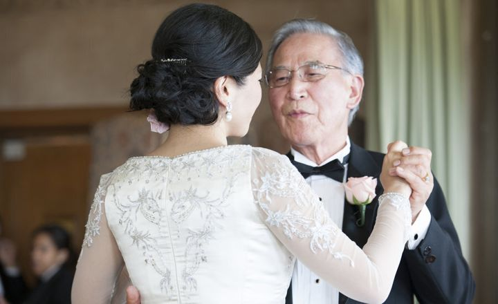 Brides, don't forget to thank your parents or loved ones.