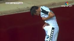 Freak Accident Leaves Footballer With Horrific Injury In Worst Possible