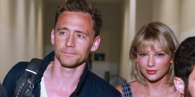 Tom Hiddleston and Taylor Swift at Sydney
