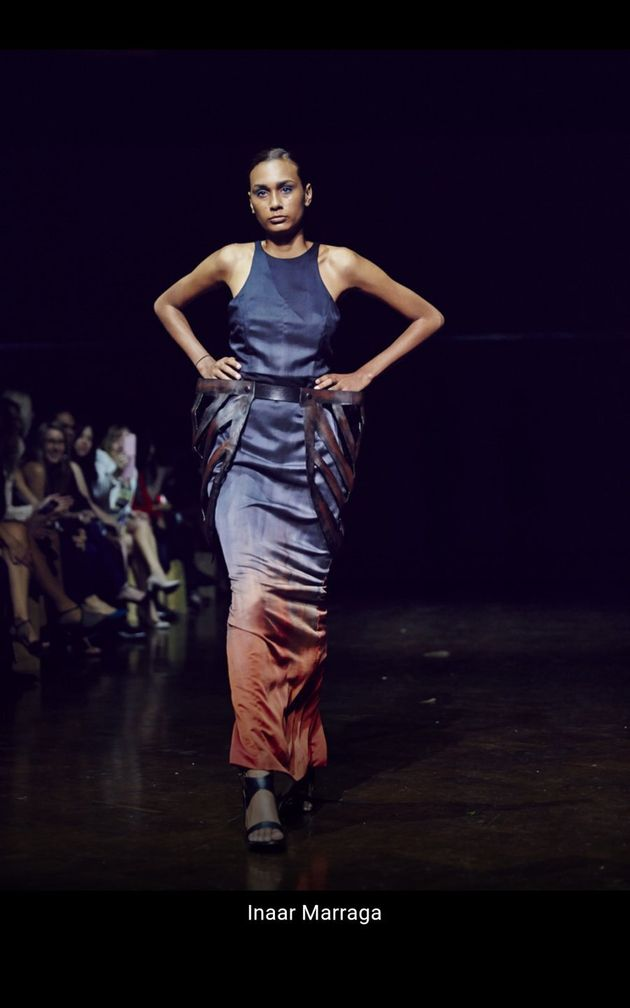 Lyn-Al's collections were shown at Mercedes Benz Fashion Week, VAMFF and Australian Indigenous Fashion...