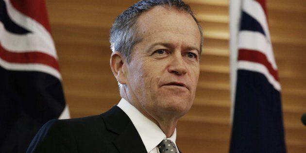 Opposition Leader Bill Shorten has conceded