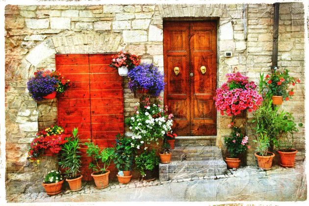Beautiful Floral Streets of