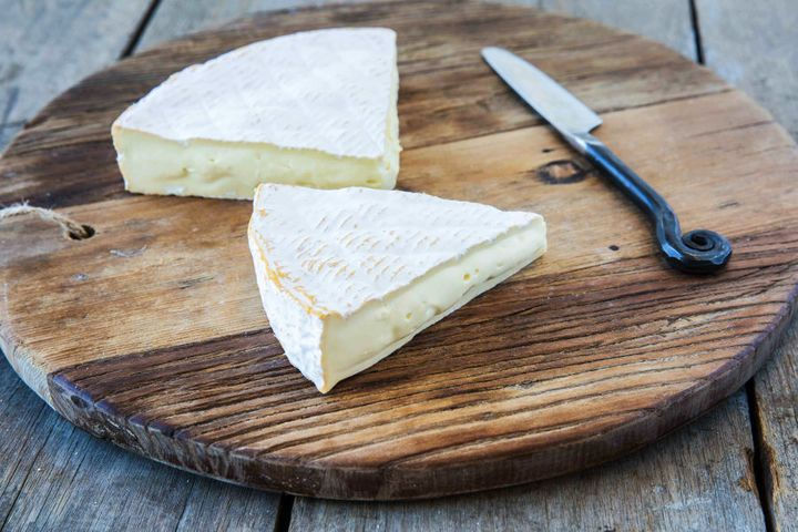 King Island's Black Label Double Brie.