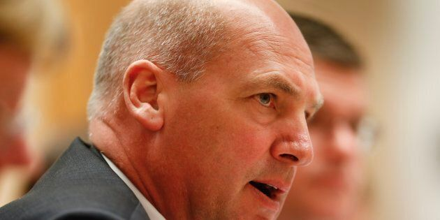 President of the Senate Stephen Parry may have to resign amid fears he's a dual