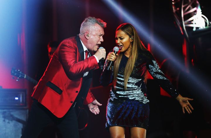 Aussie legend Jimmy Barnes stole the show with his performance alongside Jessica Mauboy.