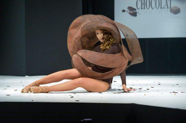 Chocolate swirl.