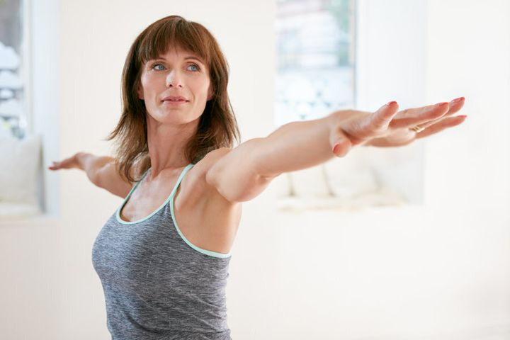 Gentle exercise can help reduce PMS and PMT.