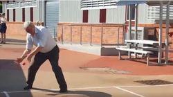 Kevin Rudd's Handball Skills: An