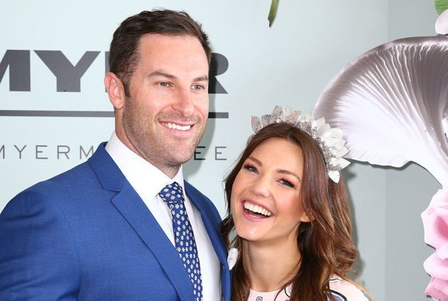 Sam Frost and her boyfriend Sasha