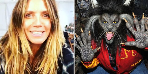Heidi Klum Finally Revealed This Year's Halloween