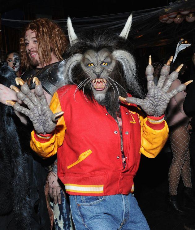Heidi Klum having a thrilling night at her 18th annual Halloween