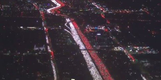 The Thanksgiving Getaway Traffic In The U.S. Is
