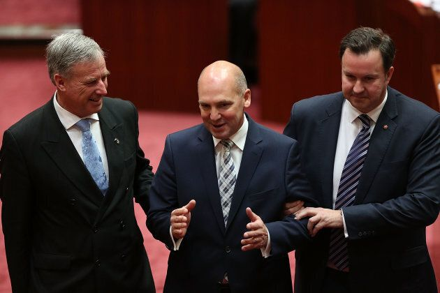 Tasmanian Liberal Senator Stephen Parry was elected President of the Senate on July 7,