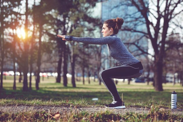 People who worked out at home or the local park using own-body-weight exercises such as push-ups and squats benefited just as much as those who went to the gym.
