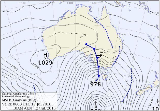 Winter Storm Set To Smash Sydney, Melbourne, Adelaide,