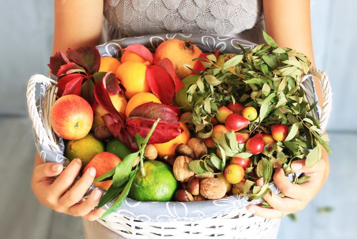 Fruit and veggies are low in salt and naturally add more flavour.
