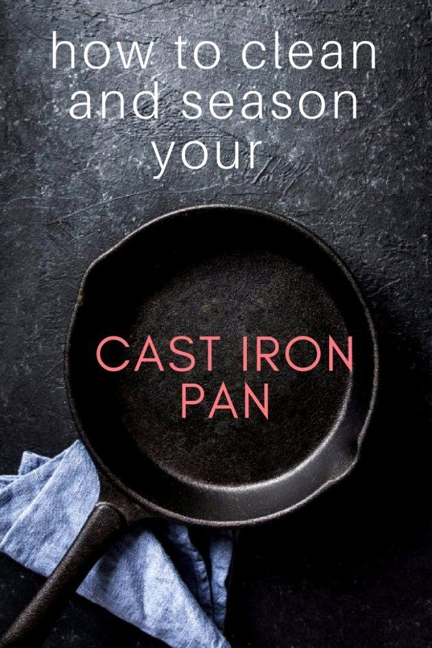 How To Clean And Season A Cast Iron
