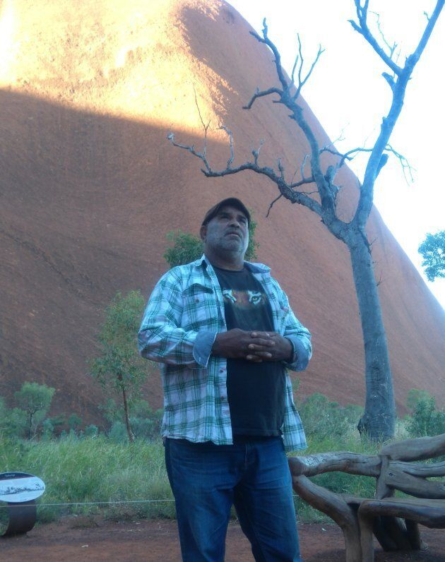 """""""We are part of the land and the land is part of me,"""" explained traditional custodian Sammy Wilson."""