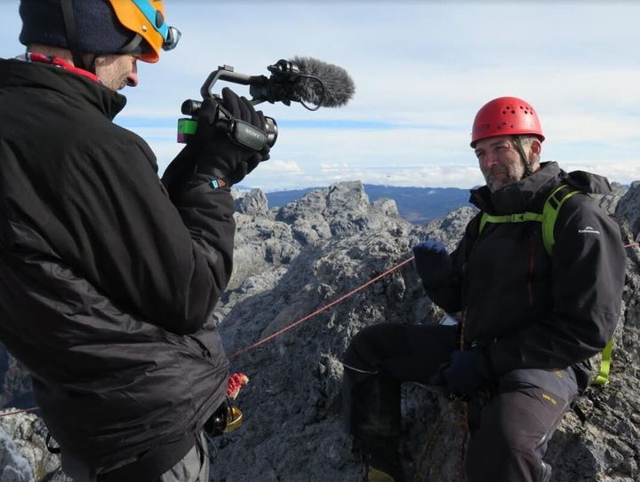 25zero is filming a documentary about the disappearing tropical glaciers.