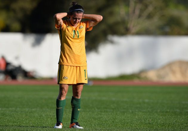 Matildas star Lisa De Vanna is the oldest player in the women's national team -- which means she cops...