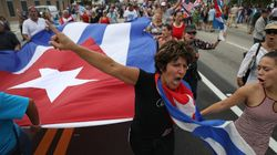 Cuban-Americans Celebrate Fidel Castro's Death In Miami's Little